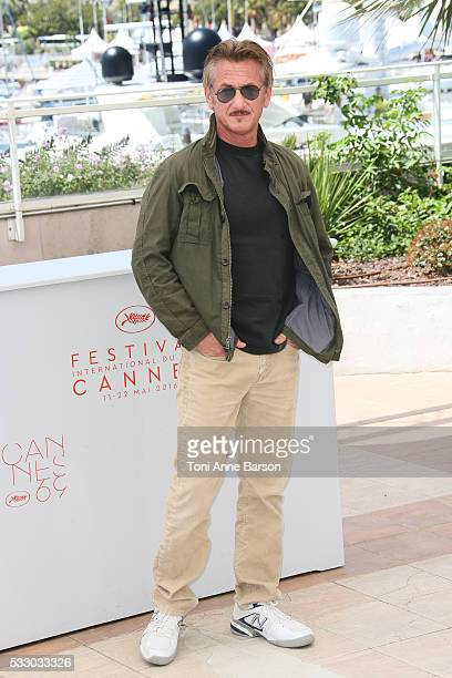 Sean Penn attends the 'The Last Face' Photocall during the 69th annual Cannes Film Festival on May 20 2016 in Cannes France