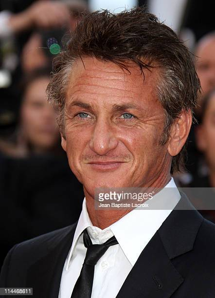 Sean Penn attends the 'This Must Be The Place' Premiere during the 64th Cannes Film Festival at Palais des Festivals on May 20 2011 in Cannes France