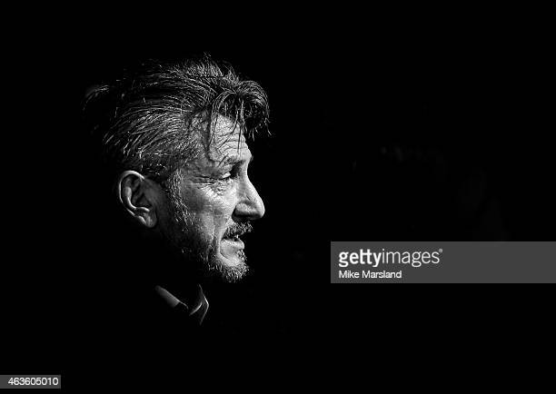 Sean Penn attends the World Premiere of The Gunman at BFI Southbank on February 16 2015 in London England
