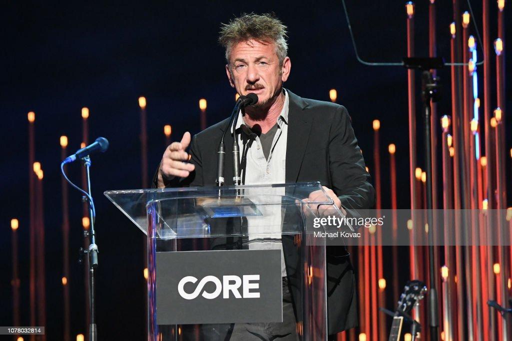 Sean Penn CORE Gala: Benefiting the organization formerly known as J/P HRO & Its Life-Saving Work Across Haiti & the World : News Photo