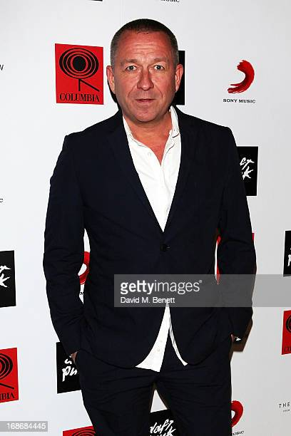Sean Pertwee attends a listening party for Daft Punk's new album 'Random Access Memories' at The Shard on May 13 2013 in London England