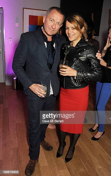 Sean Pertwee attends the annual fundraising art auction in aid of Teenage Cancer Trust at The Groucho Club on May 15 2013 in London England