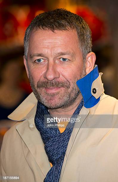 Sean Pertwee attends the Disney Store Christmas party at Disney Store on November 6 2013 in London England