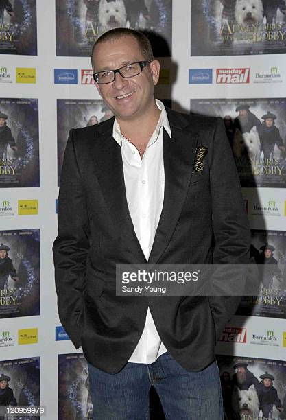Sean Pertwee during 'Greyfriars Bobby' UK Gala Premiere at Vue Omni Centre in Edinburgh Great Britain