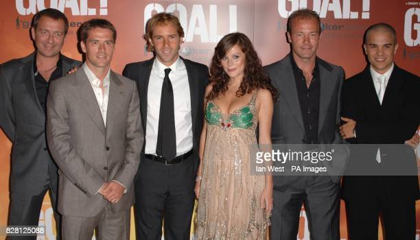 Sean Pertwee Michael Owen Alessandro Nivola Anna Friel Alan Shearer and Kuno Becker