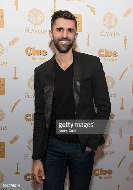 Sean Peter Forte attends Clue 30th anniversary celebration at The Players Theatre on December 13 2015 in New York City