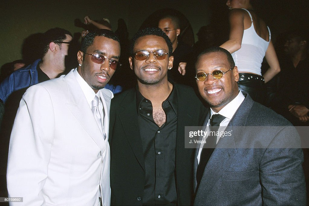 Bad Boy Records Party for Carl Thomas - Hosted by Puff Daddy and Andre Harrell : News Photo