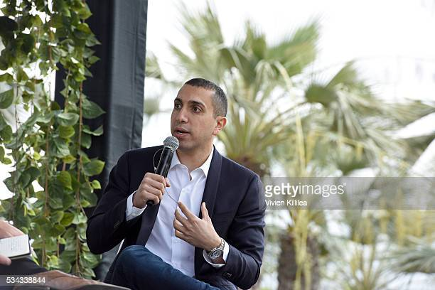 Sean Rad CEO of Tinder speaks at Fast Company Creativity CounterConference 2016 on May 24 2016 in Los Angeles California