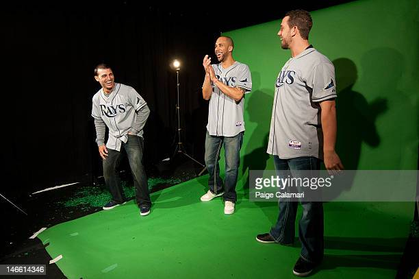 Sean Rodriguez of the Tampa Bay Rays reveals that the filming of a commercial in which teammates James Shields and David Price acted out silly stunts...