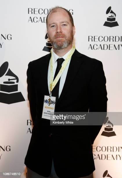 Sean Royce Martin attends the SF Chapter GRAMMY Nominee Celebration on January 22 2019 in San Francisco California