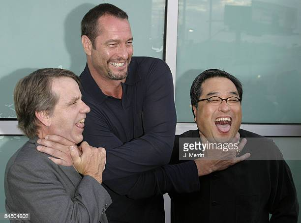 Sean S Cunningham producer Ken Kirzinger who plays Jason and Ronny Yu director