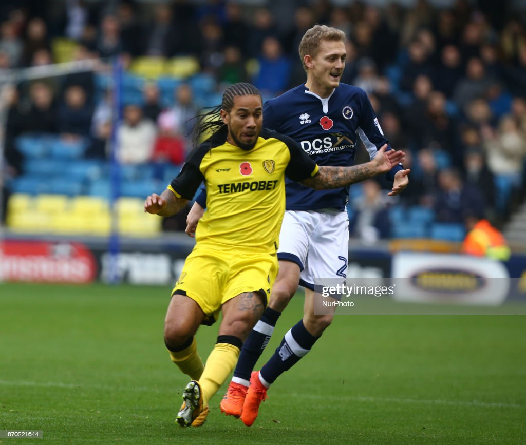 Millwall v Burton Albion FC - Sky Bet Championship : News Photo
