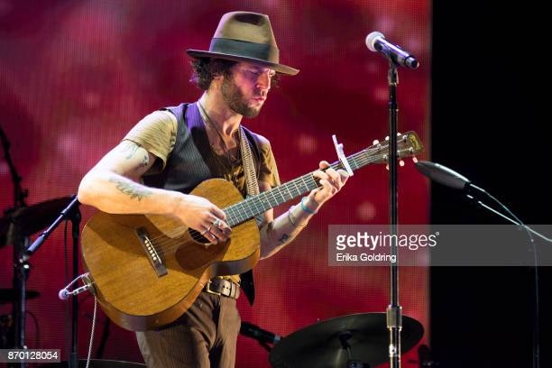 Sean Scolnick of Langhorne Slim performs during 2017 Boudin Bourbon and Beer at Champions Square on November 3 2017 in New Orleans Louisiana