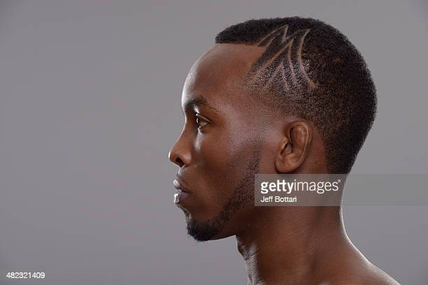 Sean Spencer poses for a portrait during a UFC photo session on March 12 2014 in Dallas Texas
