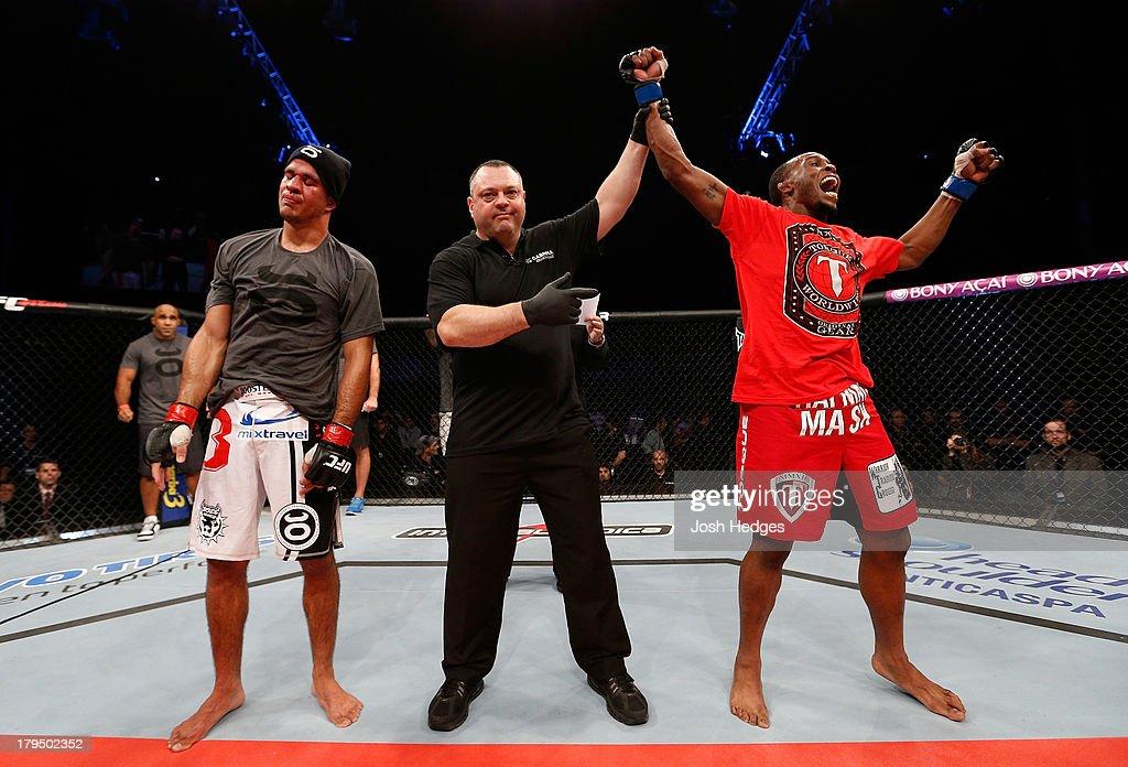 UFC on FOX Sports 1: Villefort v Spencer : News Photo