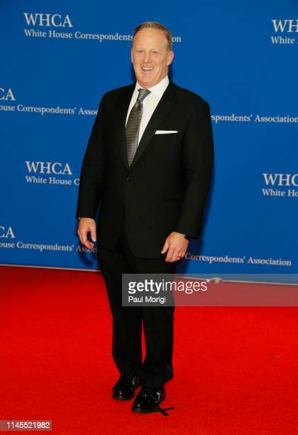 Sean Spicer attends the 2019 White House Correspondents' Association Dinner at Washington Hilton on April 27 2019 in Washington DC