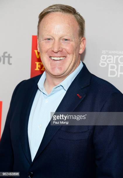 Sean Spicer attends the 25th annual White House Correspondents' Garden Brunch at BeallWashington House on April 28 2018 in Washington DC