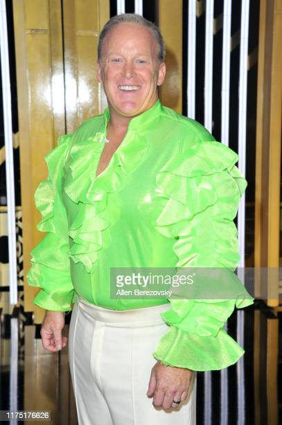 """Sean Spicer attends the """"Dancing With The Stars"""" Season 28 show at CBS Television City on September 16, 2019 in Los Angeles, California."""