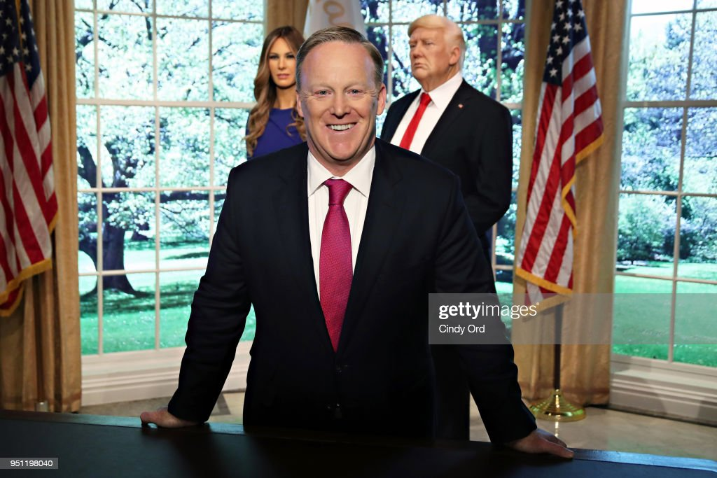 Madame Tussauds New York And Sean Spicer Debut New Melania Trump Figure
