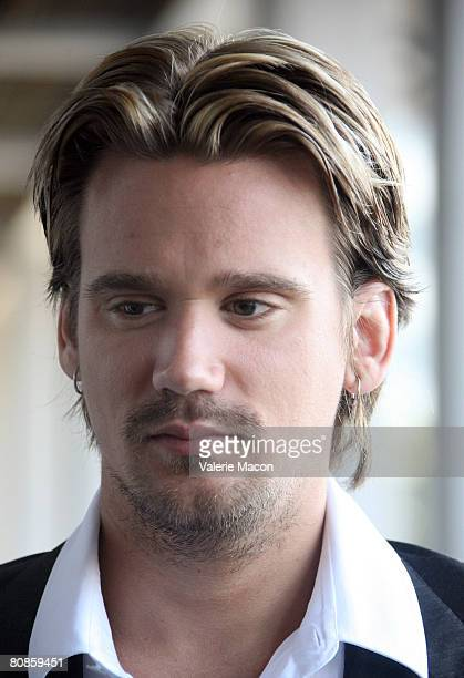 Sean Stewart eaves the Los Angeles Superior Court after his appearance for his trial appearance April 25 2008 in Los Angeles California The son of...