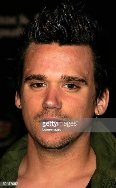 Sean Stewart son of musician Rod Stewart arrives at the Rock and Republic Fashion show at Sony Studios on March 19 2005 in Culver City California