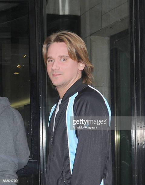 Sean Stewart son of Rod Stewart walks in midtown March 8 2009 in New York City