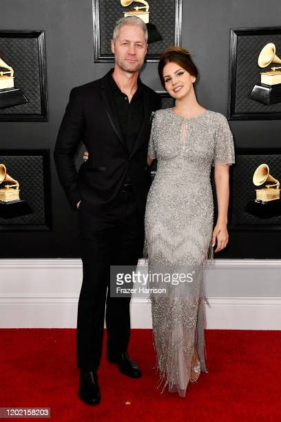 Sean 'Sticks' Larkin and Lana Del Rey attend the 62nd Annual GRAMMY Awards at STAPLES Center on January 26 2020 in Los Angeles California