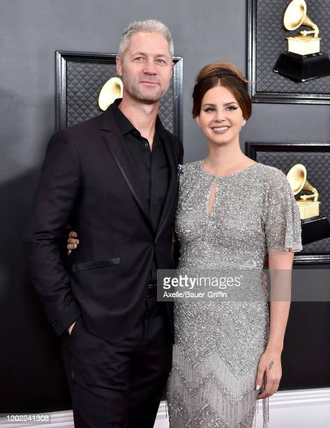 Sean 'Sticks' Larkin and Lana Del Rey attend the 62nd Annual GRAMMY Awards at Staples Center on January 26, 2020 in Los Angeles, California.