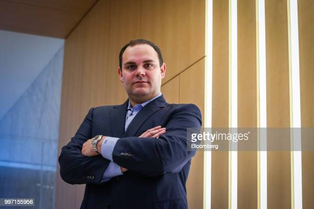 Sean Stiefel portfolio manager at Navy Capital LLC stands for a photograph at the company's office in New York US on Tuesday July 10 2018 As Canada...