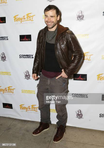 Sean Stone attends the Los Angeles premiere of Comedy Dynamics' The Fury Of The Fist And The Golden Fleece held at Laemmle's Music Hall 3 on May 24...