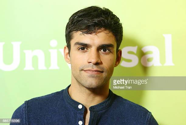 Sean Teale arrives at the 2016 Summer TCA Tour NBCUniversal press tour day 2 held at The Beverly Hilton Hotel on August 3 2016 in Beverly Hills...