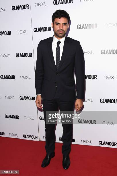 Sean Teale attends the Glamour Women of The Year awards 2017 at Berkeley Square Gardens on June 6 2017 in London England