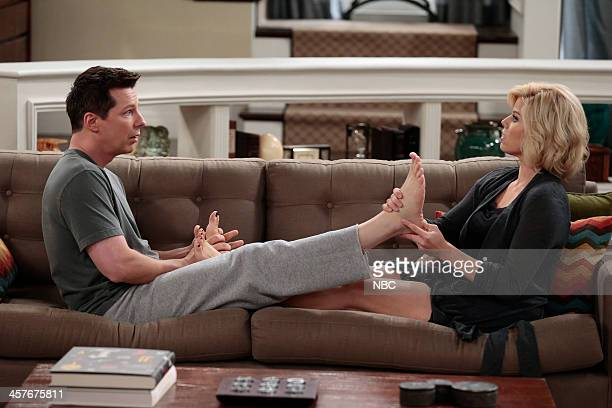 "Sean the Fabulous"" Episode 110 -- Pictured: Sean Hayes as Sean, Megan Hilty as Liz --"