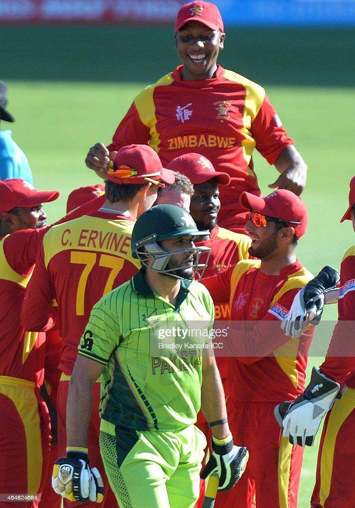 Pakistan v Zimbabwe - 2015 ICC Cricket World Cup