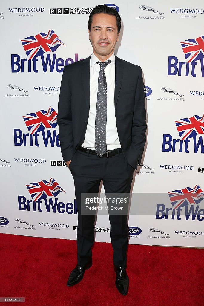 Sean Yazbeck attends the launch of the Seventh Annual Britweek Festival 'A Salute to Old Hollywood' on April 23, 2013 in Los Angeles, California.