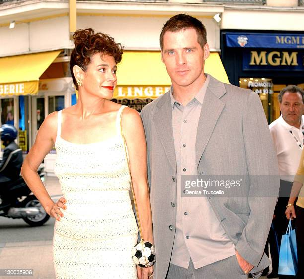 """Sean Young and Ben Browder during 2004 Cannes Film Festival - """"A Killer Within"""" - Premiere at Star Cinema in Cannes, France."""