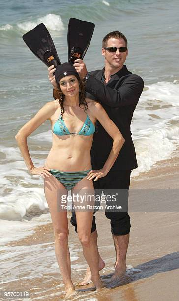 Sean Young and Ben Browder