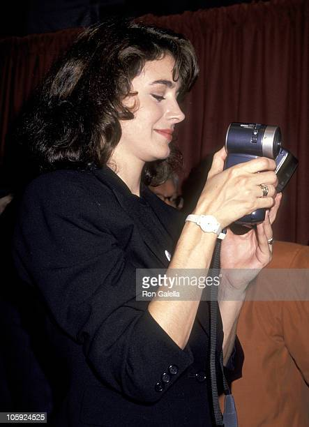 Sean Young during Friars Club Roasts Whoopi Goldberg at Hilton Hotel in New York City New York United States