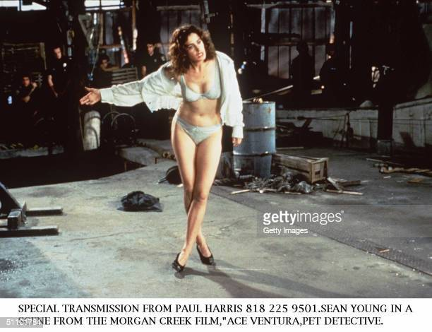 Sean Young In A Scene From The Morgan Creek Film Ace Ventura Pet Detective Morgan Creek Films