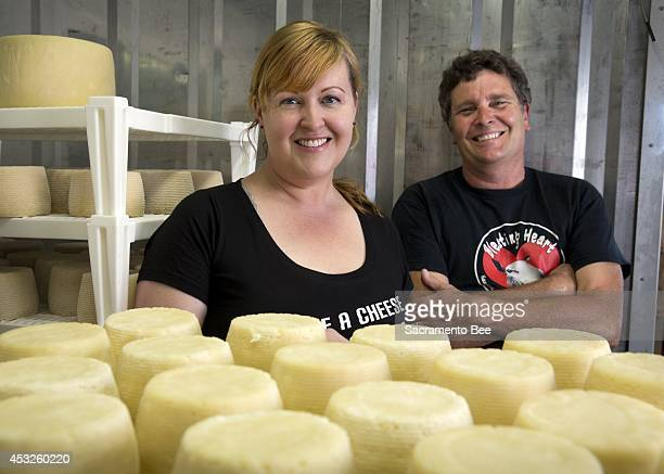Seana Doughty and Dave Dalton started the Calliforniabased Bleating Hearts Cheese The cheesemakers are especially famous for their Fat Bottom Girl...