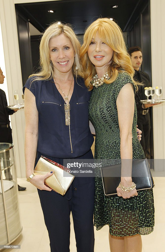 Seandra Case and Elizabeth Segerstrom attend Dior celebrates the opening of Dior Couture Patrick Demarchelier Exhibition at the Dior store at South Coast Plaza May 10, 2013 in Costa Mesa, California.