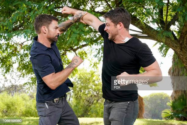 Seann William Scott and guest star Lindsay Farris in the Panama episode of LETHAL WEAPON airing Tuesday Nov 6 on FOX