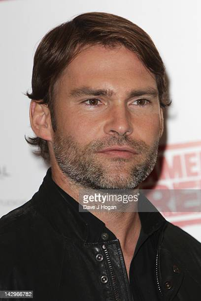 Seann William Scott attends a photocall for American Pie Reunion on April 16 2012 in London England