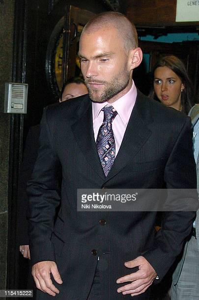 Seann William Scott during 'The Dukes of Hazzard' London Premiere After Party at Texas Embassy Cantina in London United Kingdom