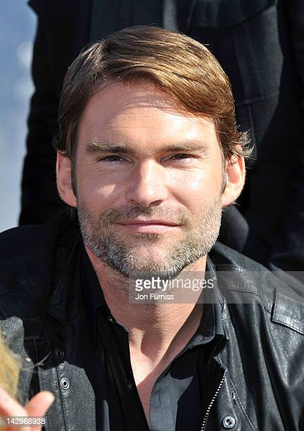 Seann William Scott promote American Pie Reunion on April 16 2012 in London England