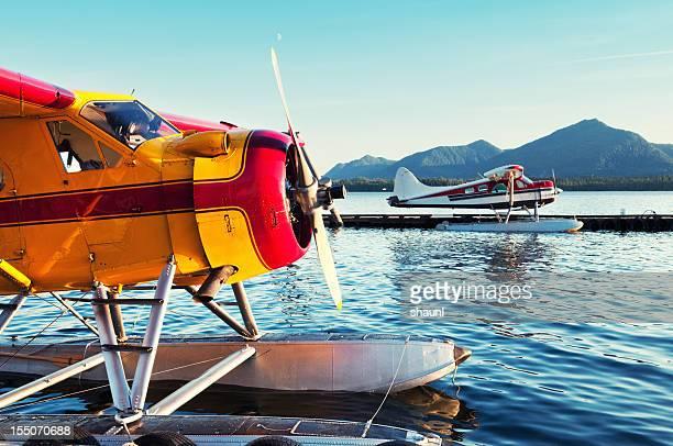 Wasserflugzeug-Docks