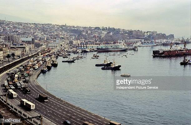 Seaport of Valparaiso Chile