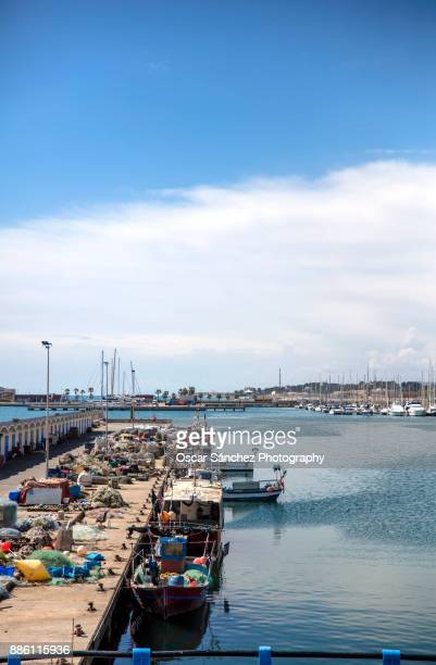 Seaport of Vilanova i la Geltrú