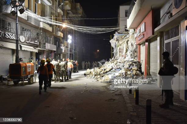 Search and rescue operations reinitiated after the statement that a person may still be alive under the rubbles, despite the a month passed explosion...