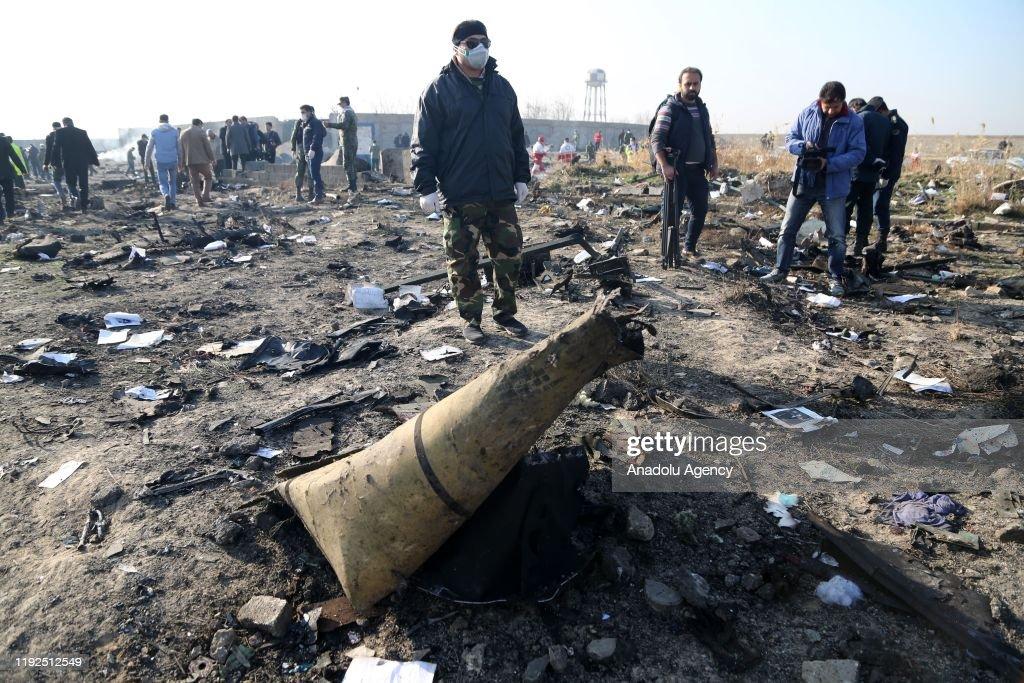 All passengers, crew members killed in Iran plane crash : News Photo